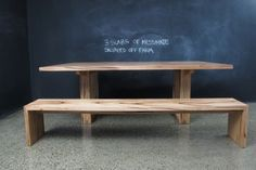 U Based Messmate table with bench seats