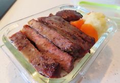 Mushroom & Beef Steak Rice Bento Steak And Rice, Beef Steak, Bento, Free Food, Stuffed Mushrooms, Recipes, Stuff Mushrooms, Ripped Recipes