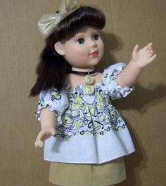 4P Doll Clothes Outfit 4 18 Battat Gotz Tolly Tot American Girl Madame Alexander  $15.44