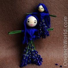 use lavender twigs to make this doll... love it