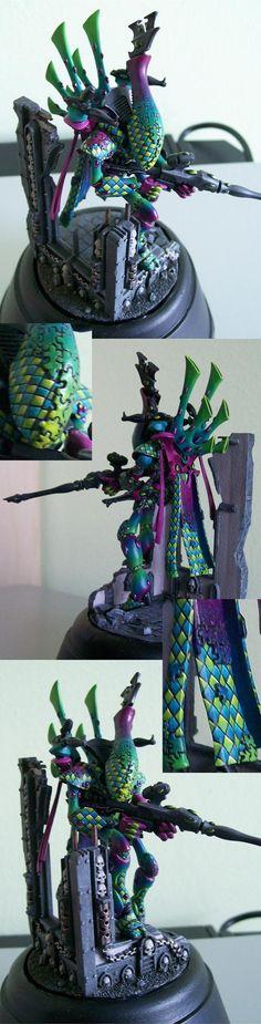 40k - Eldar Harlequin Wraithlord