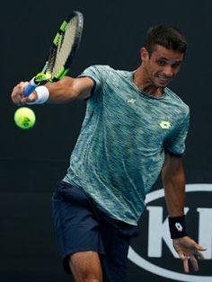Blog Esportivo do Suíço:  Rogerinho cai diante de francês e está fora do Aberto da Austrália