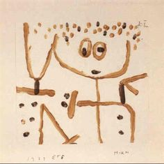 View Hirm by Paul Klee on artnet. Browse upcoming and past auction lots by Paul Klee. Paul Klee Art, World Famous Artists, Paintings Famous, Wassily Kandinsky, Cubism, Color Theory, Art World, Coloring Books, Modern Art