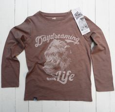Lion Of Leisure Monkey Long Sleeve T-Shirt - Hip And Green