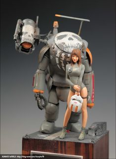 Robot Painting, Ashley Wood, Fantasy Figures, Sci Fi Armor, Frame Arms, Garage Kits, Name Art, Character Modeling, Dieselpunk