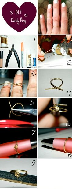 the desi knot: Dainty Jewelry Trend & Some DIY Magic