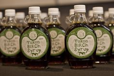 Lyndsey Berwyn Larson of Uncle Berwyn's in Dawson City, Yukon is one of our 20 Artisans participating in the Artisan Incubator | It takes a lot of work to make this much Birch Syrup.