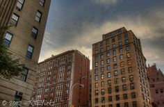 The Upper West Side at the end of the day...