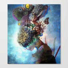 Canvas art print. Adhyasa by Archan Nair