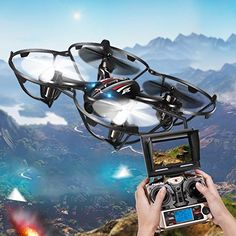 Kingtoys Jjrc Newest Version H6d 5.8g Video FPV Drone Rc Quadcopter Helicopter 3d Flips+ 720p Hd Camera - http://www.midronepro.com/producto/kingtoys-jjrc-newest-version-h6d-5-8g-video-fpv-drone-rc-quadcopter-helicopter-3d-flips-720p-hd-camera/