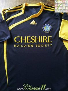 Relive Macclesfield Town's 2009/2010 season with this original Adidas away football shirt.