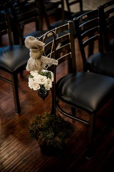 Cowboy Chic Wedding in a BBQ Joint! Click through to see more ideas and inspiration from this #wedding.    www.cowboyspirit.tv