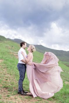 Faf + Stephanie engagement shoot by Ian Odendaal Photography  http://www.ianodendaal.co.za/blog/2016/03/10/faf-stephanie-engagement/  Dress by Silver Swallow