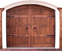 wooden garage doors - Google Search