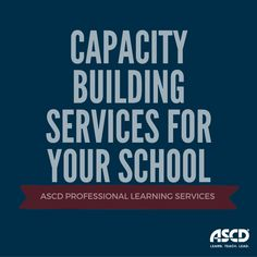 ASCD has on-site, online, and blended solutions that are customizable, aligned, and differentiated to meet the goals of educators at all levels. Learn more!
