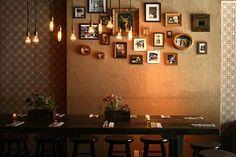 Designer Mexican Restaurant Decor at Mesa Coyoacán
