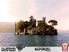 L'isola di Loreto, a nord di Montisola. Basta un tour in traghetto nel Lago d'Iseo per calarsi nell'atmosfera incantata delle favole di Walt Disney! #Rapunzel