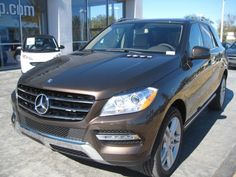 2014 Mercedes-Benz M-Class ML350BlueTEC AWD ML350 BlueTEC 4MATIC 4dr SUV SUV 4 Doors Brown for sale in Jacksonville, FL Source: http://www.usedcarsgroup.com/used-mercedes_benz-m_class-for-sale