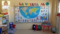 La vuelta al mundo. Proyecto completo. Continents And Countries, Jules Verne, Classroom Posters, Preschool, Around The Worlds, Kids Rugs, Teacher, Culture, Education