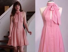 """Anastasia+Steele+Peach+Halter+Party+Dress+From+Fifty+Shades+of+Grey  <img+src=""""https://d1nr5wevwcuzuv.cloudfront.net/product_photos/51323798/size_original.png""""+width=""""686""""++height=""""298""""+alt=""""Fashion++Dress""""/></a>"""