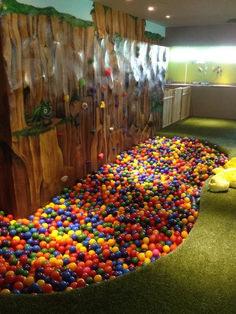 Delightful Modern Kids Cafe Interior Idea 61