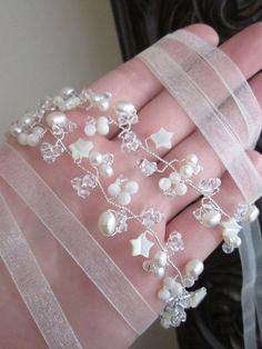 Swarovski crystal hair vine Crystal Headband Bridal hair