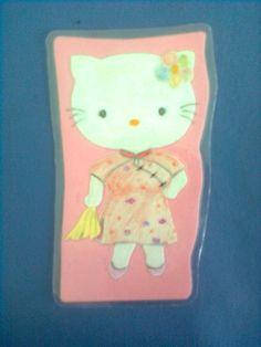 Hello Kitty with cheongsam dress.