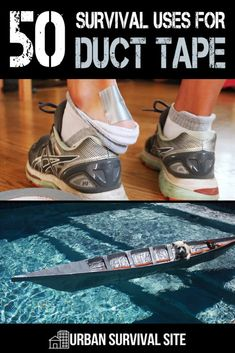 Duct tape is one of the most versatile products ever. MacGyver types have found uses for duct tape that most people would never dream of. Emergency Preparedness Items, Emergency Preparation, Disaster Preparedness, Survival Prepping, Survival Gear, Survival Hacks, Survival Essentials, Urban Survival, Wilderness Survival