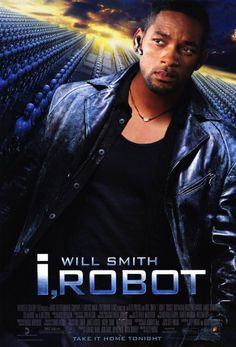 Very thought provoking science fiction movie.I agree.one of my fav Will Smith movies. Did you know Wash from Firefly did the voice of the Robot ? Film Movie, See Movie, Film D'animation, Movie List, Will Smith Films, Great Films, Good Movies, Film Science Fiction, Bon Film