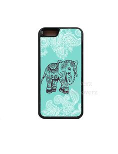Elephant case Teal.iPhone 6 Case.elephant iphone 6 by MadCoverz