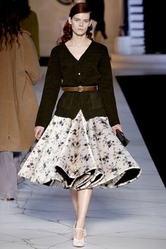 Spotlight on the Skirt autumn/winter 2013 trend (Vogue.com UK)