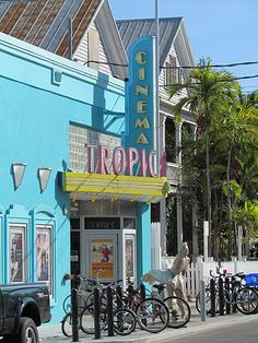 The Key West Tropic Cinema is recognized as one of the THE BEST cinemas in Florida! A charming, quaint theatre I'd love to catch a movie in! Key West Florida, Florida Home, Florida Keys, Florida Usa, Oh The Places You'll Go, Places To Travel, Places Ive Been, Places To Visit, Dream Vacations