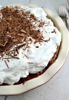 My All-Time Favorite, Classic, Old Fashioned Chocolate Cream Pie