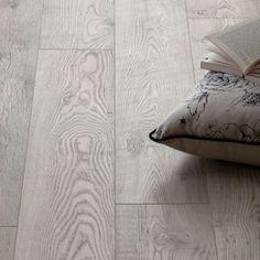 Schreiber Rushmore Chestnut Laminate Flooring - sq m per pack Tile Effect Laminate Flooring, Hardwood Floor Colors, Grey Laminate, Refinishing Hardwood Floors, Wooden Flooring, Floor Refinishing, British Home, Bed Pillows, House Design