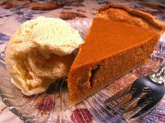 Pumpkin Pie...simply the Best!!