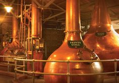 See where the magic happens at the Jameson Distillery!
