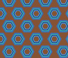 retro fabric by mofje on Spoonflower - custom fabric Retro Fabric, Custom Fabric, Spoonflower, Gift Wrapping, Wallpaper, Prints, Pattern, Color, Design