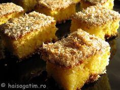 Prajiturele turcesti cu iaurt Romanian Food, Romanian Recipes, Oriental Food, Dessert Recipes, Desserts, French Toast, Muffin, Sweets, Cookies