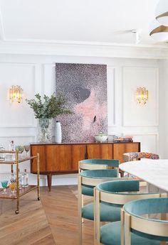 Una cocina abierta al comedor llena de estilo · A stylish kitchen and dining room by Beatriz Silveira