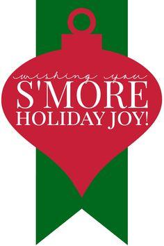 S'mores Mason Jar Gifts Diy Christmas Gifts For Friends, Neighbor Christmas Gifts, Christmas Mason Jars, Christmas Crafts For Gifts, Homemade Christmas Gifts, Homemade Gifts, Christmas Fun, Holiday Fun, Neighbor Gifts