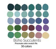 Color Schemes Colour Palettes, Green Color Schemes, Green Colour Palette, Color Combos, Green Colors, Complimentary Color Scheme, Pastel Color Palettes, Paint Combinations, Nature Color Palette