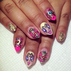 #SailorMoon nails for @rianailz