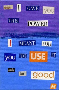 Rothko Ransom note (collage), Audrey Thompson