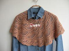 Sidney Artesanato: Pelerine de crochet ...lindos arcos