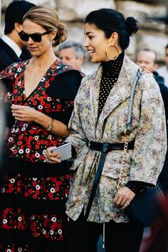 The street style that's inspiring us from Paris Fashion Week Spring/Summer 2017. Pictures by Sandra Semburg.