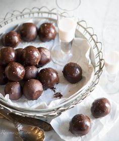 Raw Chocolate Covered Nutella Macaroons