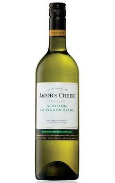 Jacobs Creek Semillon Sauvignon Blanc 2017 South Eastern Australia - 12 Bottles Wine Labels, Sauvignon Blanc, White Wine, Wines, Bottles, Australia, Sea, Wine Tags, White Wines