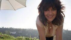 Carla Gugino and her cleavage says hello
