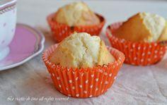 muffin alle mandorle,le ricette di tina