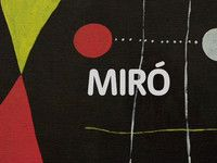 joan miro video-15 min excellent video to show HS students
